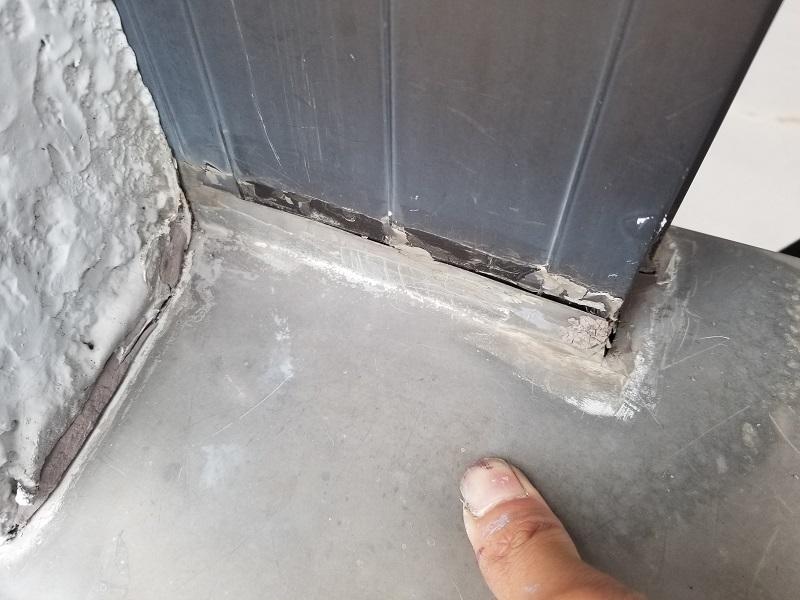 雨漏り補修の施工前