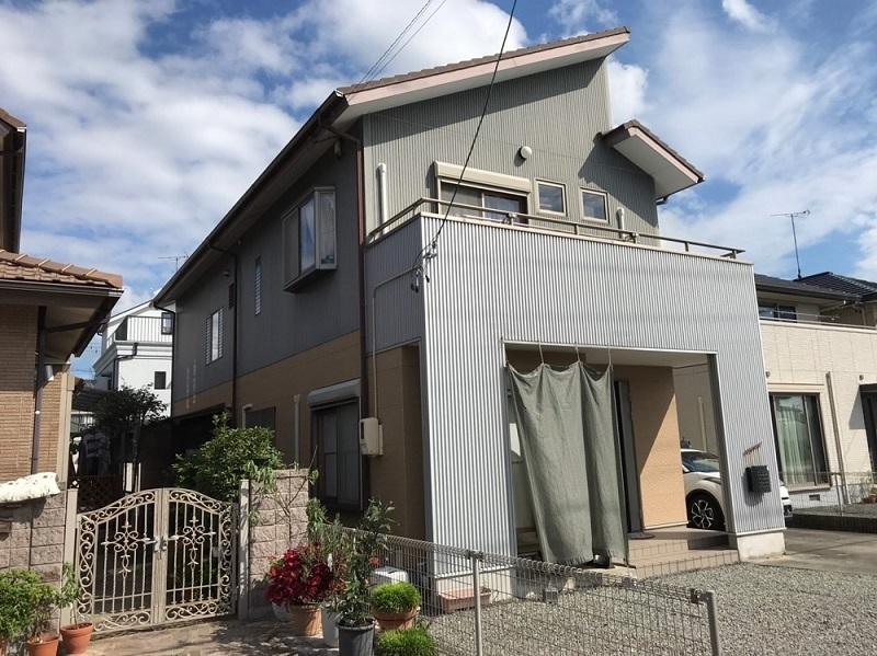 藤枝市F様邸 外壁塗装